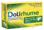 DOLIRHUME PARACETAMOL ET PSEUDOEPHEDRINE 500 mg/30 mg, comprimé à Libourne
