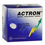 ACTRON, comprimé effervescent à Libourne