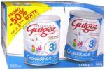 GUIGOZ LAIT CROISSANCE 3 2X800GR à Libourne