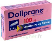 DOLIPRANE 100 mg Suppositoires sécables 2Plq/5 (10) à Libourne