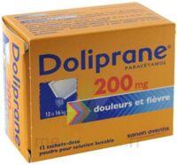 DOLIPRANE 200 mg Poudre pour solution buvable en sachet-dose B/12 à Libourne
