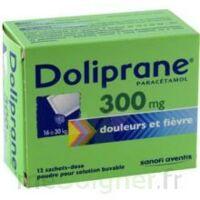 DOLIPRANE 300 mg Poudre pour solution buvable en sachet-dose B/12 à Libourne