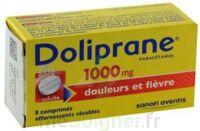 DOLIPRANE 1000 mg Comprimés effervescents sécables T/8 à Libourne