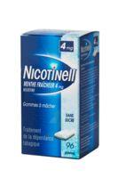 NICOTINELL MENTHE FRAICHEUR 4 mg SANS SUCRE, gomme à mâcher médicamenteuse 8Plq/12 à Libourne