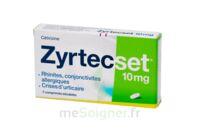ZYRTECSET 10 mg, comprimé pelliculé sécable à Libourne