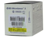 BD MICROLANCE 3, G30 1/2, 0,30 mm x 13 mm, jaune  à Libourne