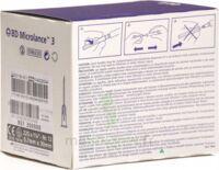 BD MICROLANCE 3, G22 1 1/4, 0,7 mm x 30 mm, noir  à Libourne