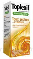 TOPLEXIL 0,33 mg/ml sans sucre solution buvable 150ml à Libourne