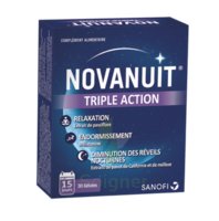 NOVANUIT Triple action Gélules B/30 à Libourne