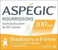 ASPEGIC NOURRISSONS 100 mg, poudre pour solution buvable en sachet-dose à Libourne