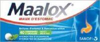 MAALOX MAUX D'ESTOMAC HYDROXYDE D'ALUMINIUM/HYDROXYDE DE MAGNESIUM 400 mg/400 mg, comprimé à croquer à Libourne