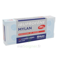 IBUPROFENE MYLAN 200 mg, comprimé enrobé B/30 à Libourne