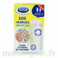 Scholl SOS Verrues traitement pieds et mains à Libourne