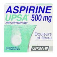 ASPIRINE UPSA 500 mg, comprimé effervescent à Libourne