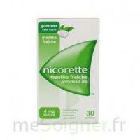 NICORETTE 4 mg Gom à mâcher médic sans sucre menthe fraîche Plq/30gom à Libourne