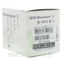 BD MICROLANCE 3, G22 1 1/2, 0,7 m x 40 mm, noir  à Libourne