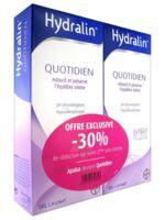 Hydralin Quotidien Gel lavant usage intime 2*200ml à Libourne