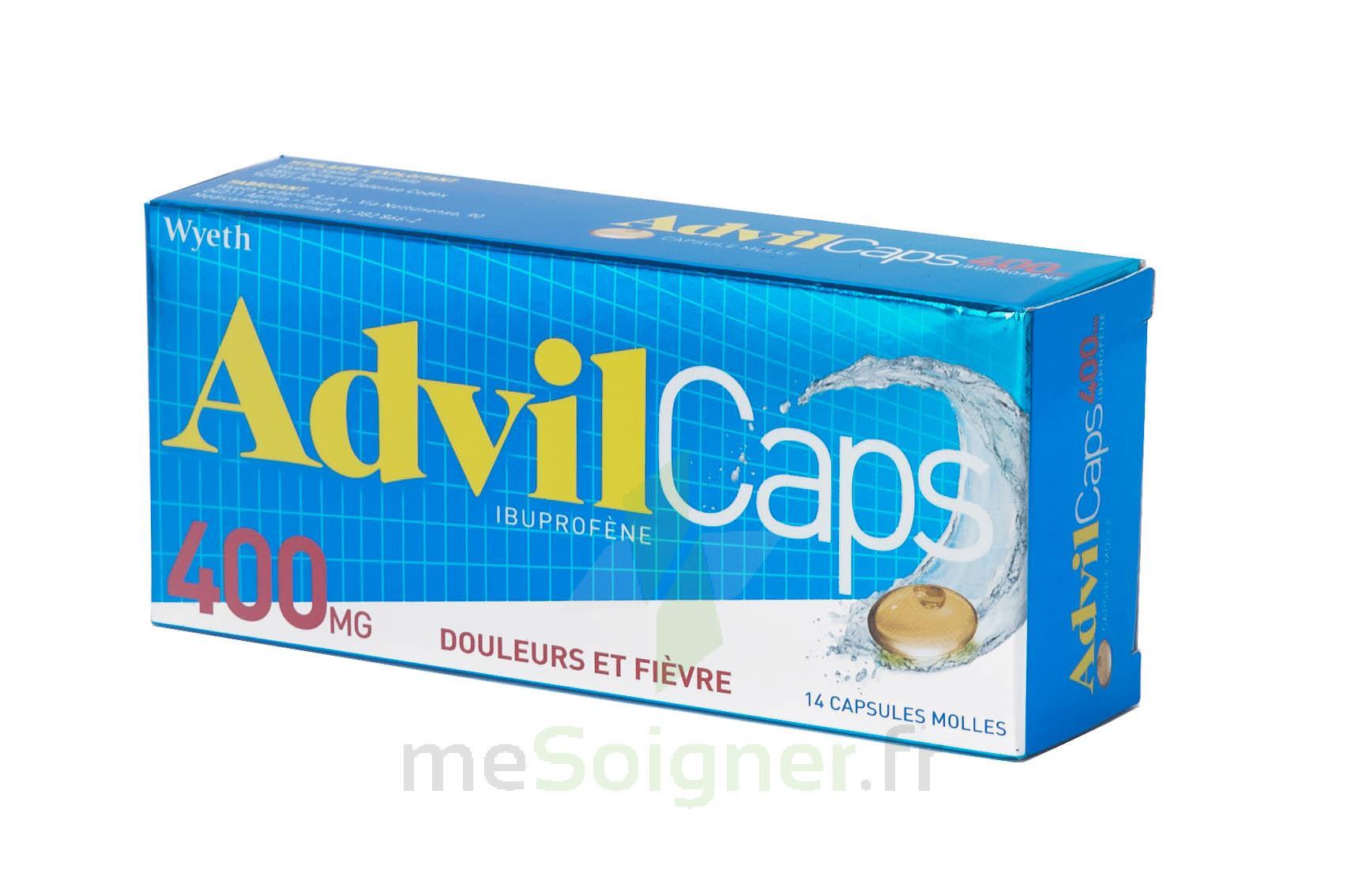 Pharmacie D'aquitaine - Médicament ADVILCAPS 400 mg